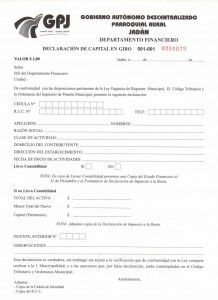 formulario de patentes